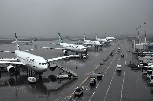 انجام به موقع پروازهای امروز فرودگاه مهرآباد