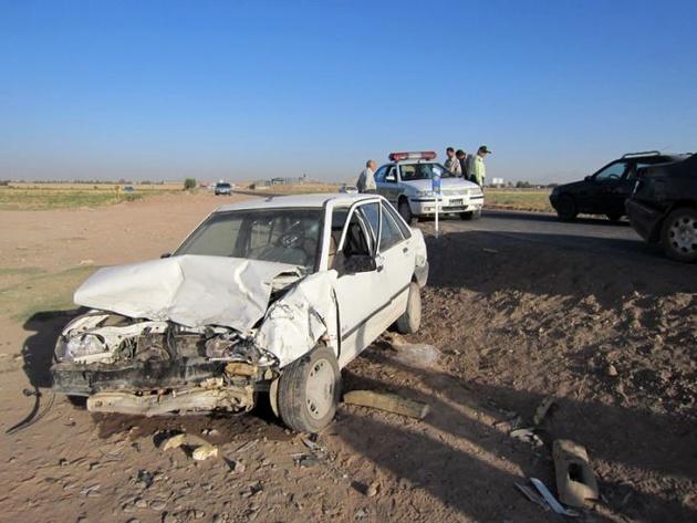 حادثه رانندگی در تربت جام مرگ دو مسافر را رقم زد