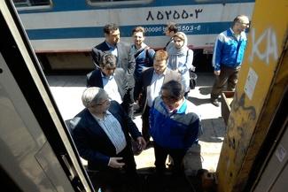 بازدید عضو شورای شهر از رجا