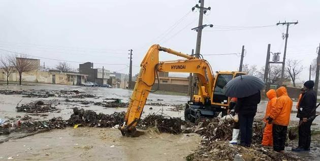 بارندگی ۴۰۰ میلیارد ریال به راههای منطقه سیستان خسارت زد