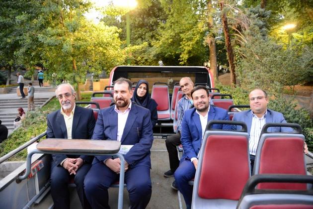 افتتاح اتوبوسهای گردشگری شمیران