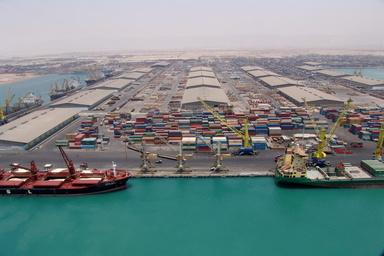 رکوردشکنی  در بارگیری محموله شمش صادراتی از بنادر ایران