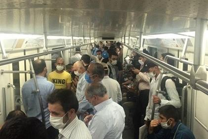 عکس| آیا مترو میتواند عامل انتقال ویروس کرونا باشد؟