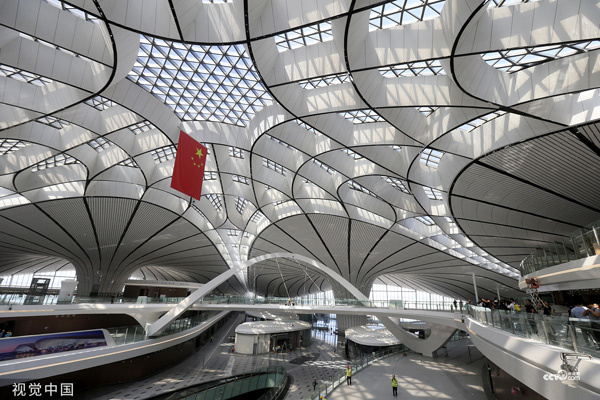 60 airlines ready for opening of just completed Beijing Daxing airport in September