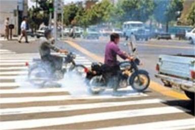 طرح جدید برخورد با موتورسیکلتهای متخلف