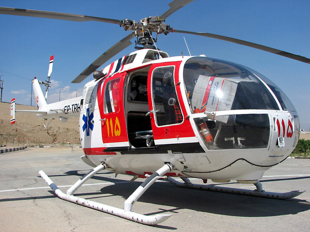 زمینه فعالیت اورژانس هوایی در شهرستان سرخس فراهم شد