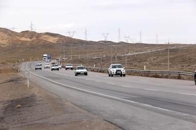 ۹ میلیون تردد در محورهای مواصلاتی استان سمنان