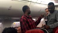 زد و خورد در هواپیمای ترکیش ایرلاین (تصاویر)