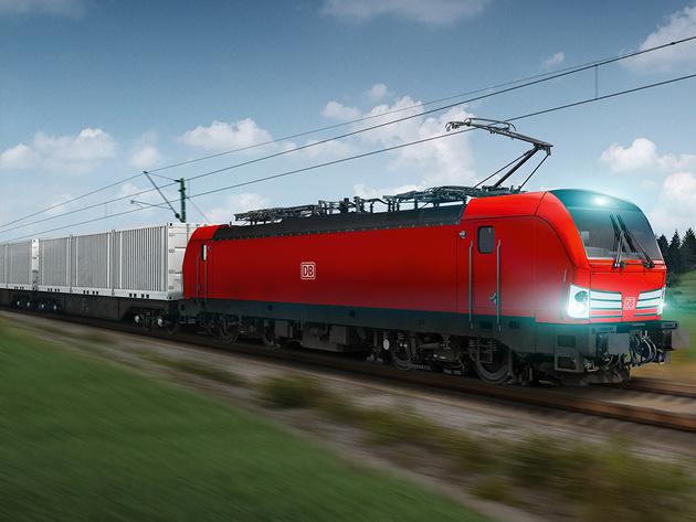 DB signs 100-locomotive framework for Rhein-Alpine freight corridor