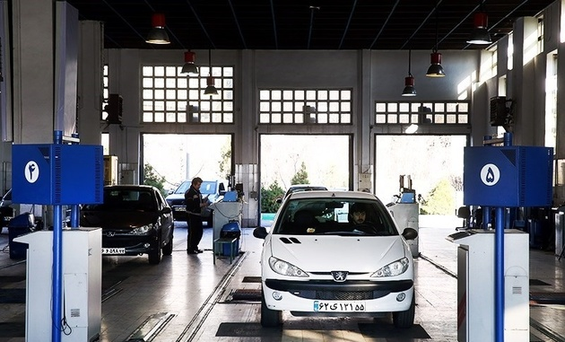 26 درصد خودروها در معاینه فنی مجدد رد شدند