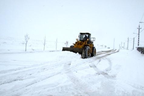 آغاز موج جدید بارش شدید برف وکولاک در استان های کشور / آماده باش راهداری کشور