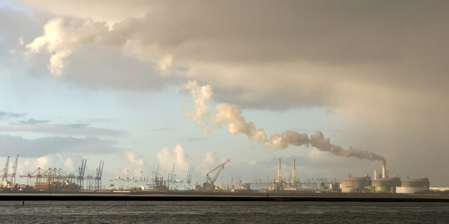 Rotterdam's CO2 emissions decrease by 13% in two years