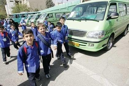 اینفوگرافی| ۱۲۰ لیتر بنزین ماهانه برای سرویس مدارس