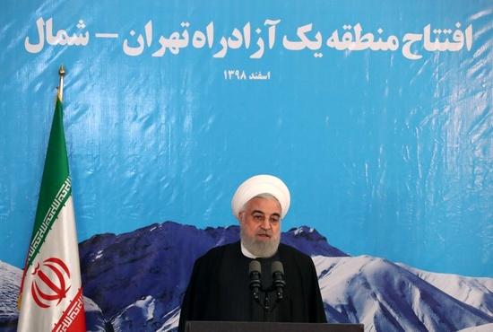 افتتاح منطقه یک ازاد راه تهران - شمال