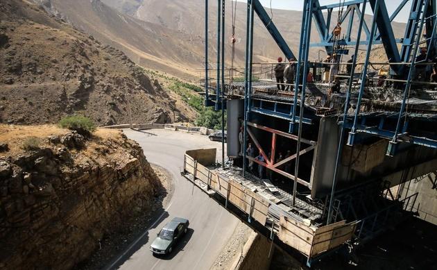 قطعه اول آزادراه تهران-شمال مهرماه زیر بار ترافیک میرود