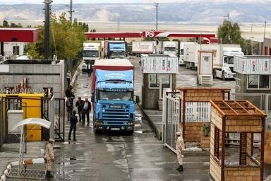 Iran's Bazargan crossing exports 80,000 tons of goods