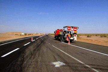 خطکشی مفید بیش از ۴ هزار و ۵۸۱ کیلومتر جادههای خراسان جنوبی