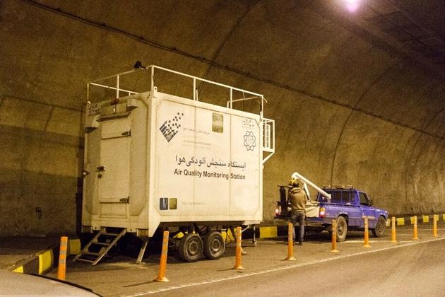 اعلام نتایج پروژه اندازهگیری آلودگی هوا در تونل نیایش