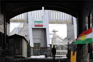 توقف تردد مسافر از مرز تمرچین پیرانشهر