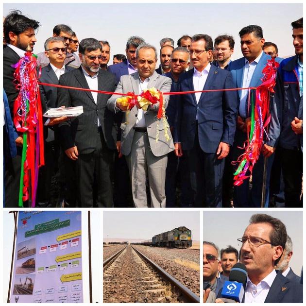 بهرهبرداری از پروژه بازسازی خط آهن ساقه -گار مانوری