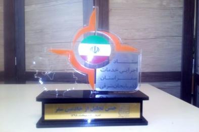 تقدیر استاندار آذربایجانشرقی از اداره کل راهداری وحمل ونقل جادهای