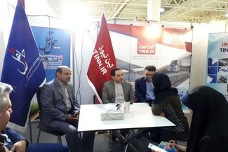 تصاویر/ حضور مدیرکل فرودگاه بین المللی مهراباد در غرفه تیننیوز در نمایشگاه ایروپرشیا