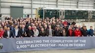 Bombardier rolls out final Electrostar EMU
