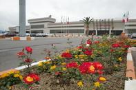 رفع موانع پروازی در فرودگاه ساری