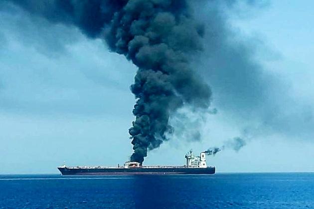 ارائه گزارش امدادرسانی ایران به نفتکشهای آسیب دیده به سازمان بین المللی دریانوردی
