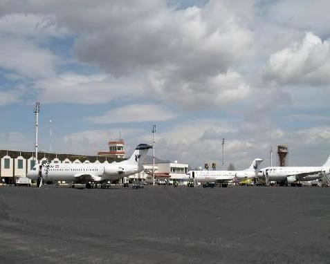مرمت و بهسازی مسیر خروج حجاج در فرودگاه ارومیه