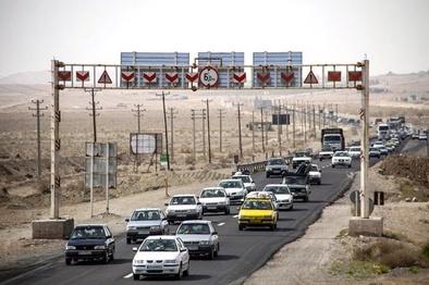 حجم ترافیک در جادههای همدان افزایش یافت