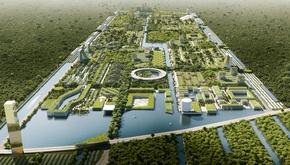 تصاویر| ساخت یک شهر هوشمند در مکزیک با بیش از 7 میلیون گیاه
