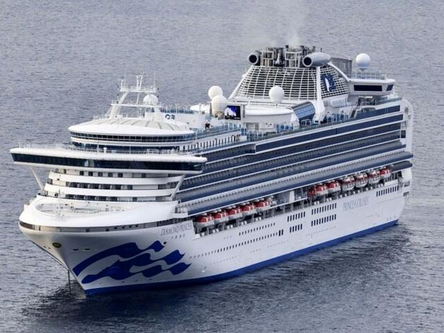 ژاپن کشتی کروز را در بندر یوکوهاما قرنطینه کرد