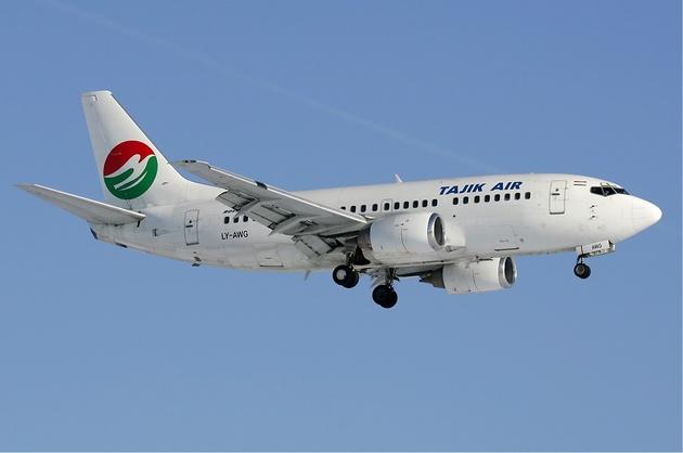 برقراری مسیر پروازی «دوشنبه – مشهد» هواپیمایی تاجیک ایر