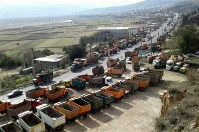 اقدامات لازم برای رفع مشکل کامیونداران کرمانشاه انجام شد
