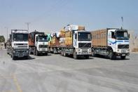 توزیع ۶۰۰ هزار حلقه لاستیک بین رانندگان کامیونها