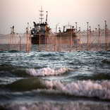 مواج بودن سواحل خوزستان