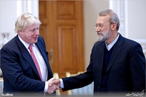 گزارش تصویری/ دیدار وزیر امور خارجه انگلستان با رئیس مجلس شورای اسلامی