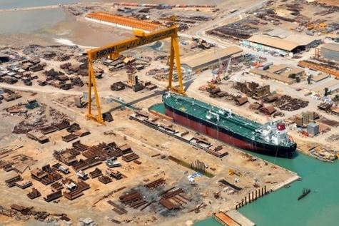 بخش کشتی سازی صدرای بوشهر فعال میشود