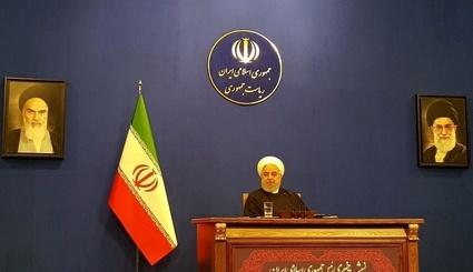 روحانی: مسئولیت جلوگیری از پروازهای غیرنظامی با دولت نیست