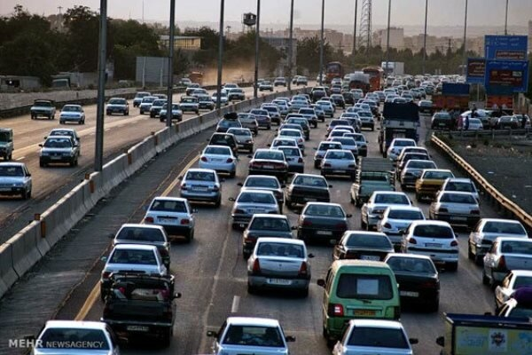 ترافیک در راههای مازندران عادی است