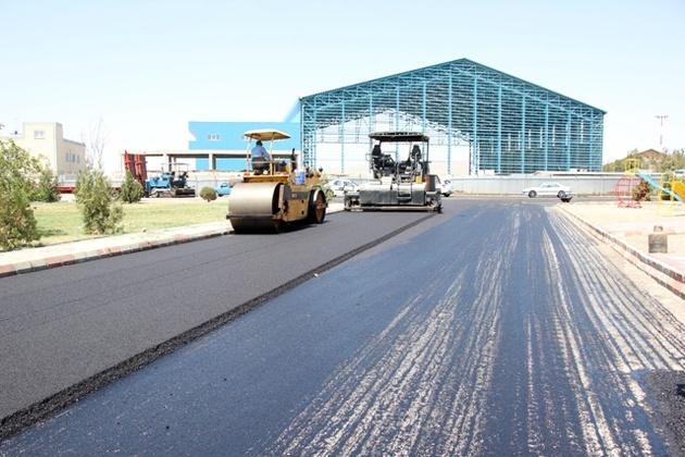 عملیات بهسازی جاده دسترسی به ترمینال حج فرودگاه تبریز در حال اجراست
