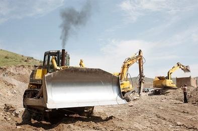 اتمام زیرسازی پروژه راهآهن مبارکه به سفیددشت تا پایان سال