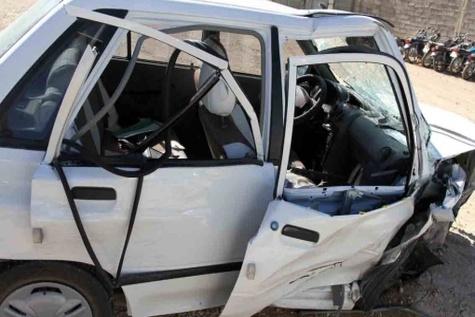 حوادثرانندگی در استان مرکزی دو کشته بر جا گذاشت
