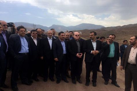 2- بازدید وزیر راه و شهرسازی از راهآهن قزوین- رشت