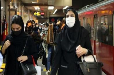 شلوغی و ازدحام در خط 2 مترو تهران/ اختلال برطرف شد