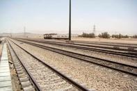 آغاز عملیات ریل گذاری ۴ هزار مترخطوط در ایستگاه مبارکه یزد