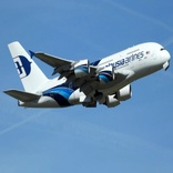 Malaysia Airlines A380 Drops Nose Wheel After Landing