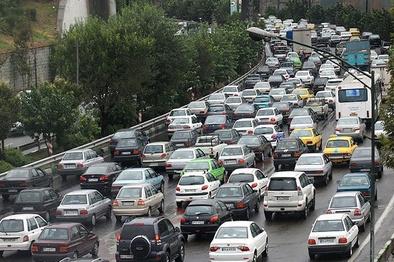 وضعیت ترافیک صبحگاهی از غرب به شرق پایتخت