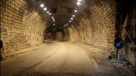 افتتاح روشنایی تونل 200 متری گوجگی در محور مشهد-کلات